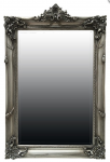 French Style Overmantle Mirror